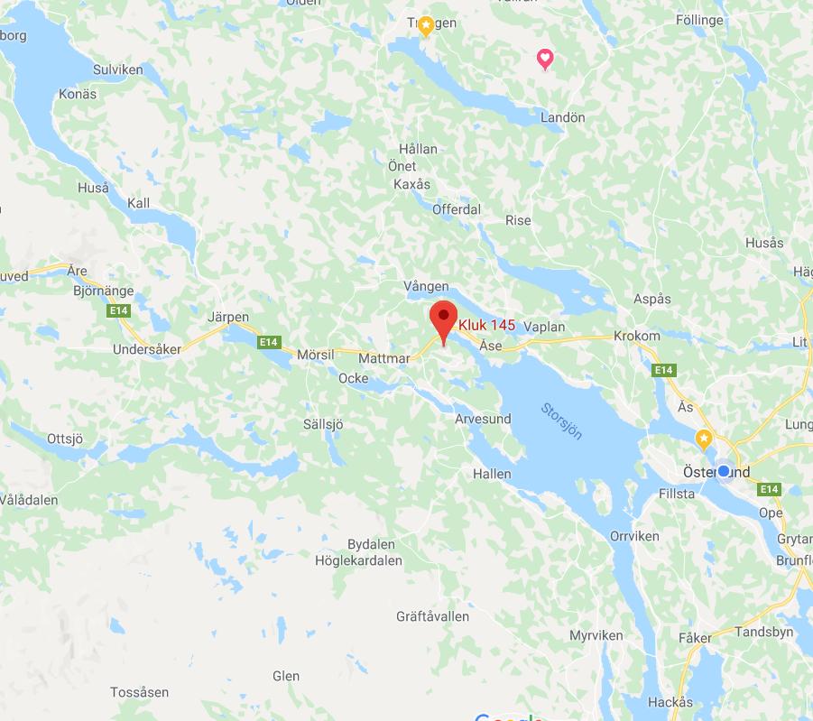 Maps: Kluk 145, Trångsviken